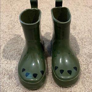 """OLD NAVY """"Dino"""" Rain boots"""